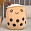 Thumbnail: Real-Life Bubble Tea Cup Plush Toy Pillow Stuffed