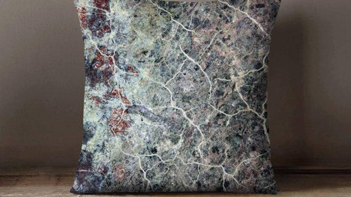 Grey Marble Pillowcase | Decorative Throw Pillow