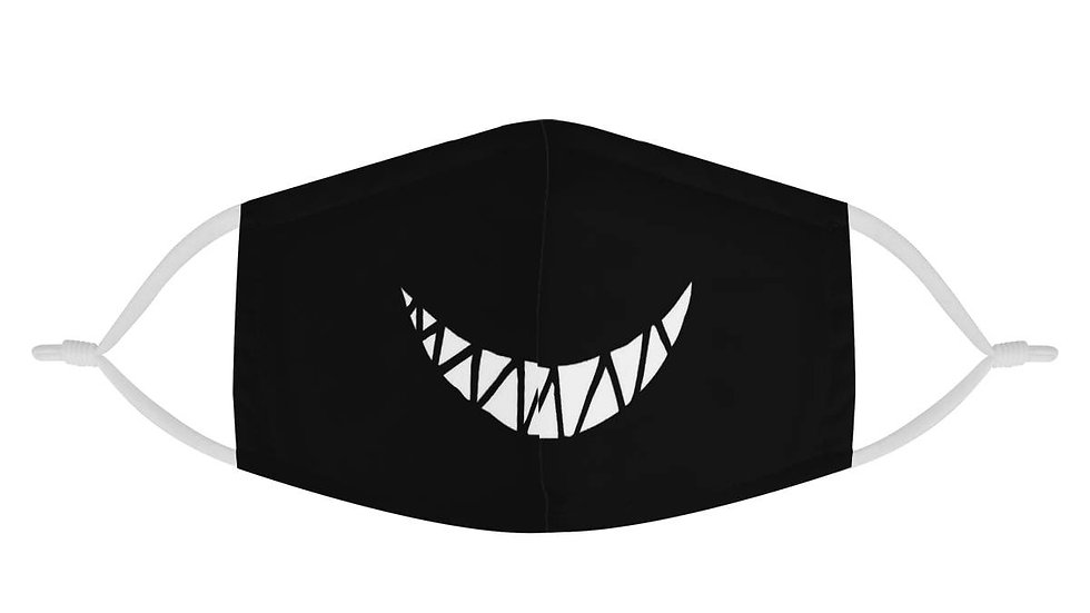 Cute Devil Monster Smile Teeth 2 Layer Cotton Fashion Face Mask
