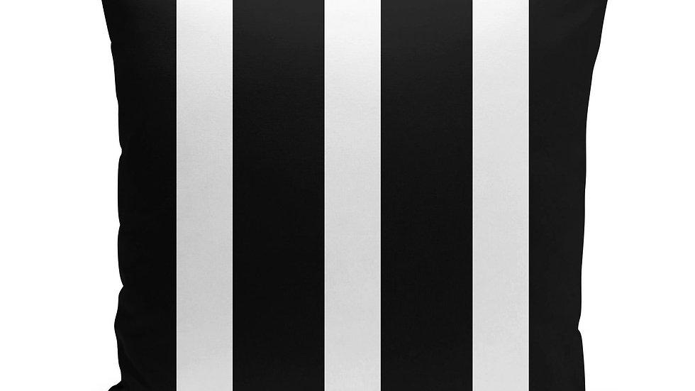 Black & White Stripes Pillow Cover
