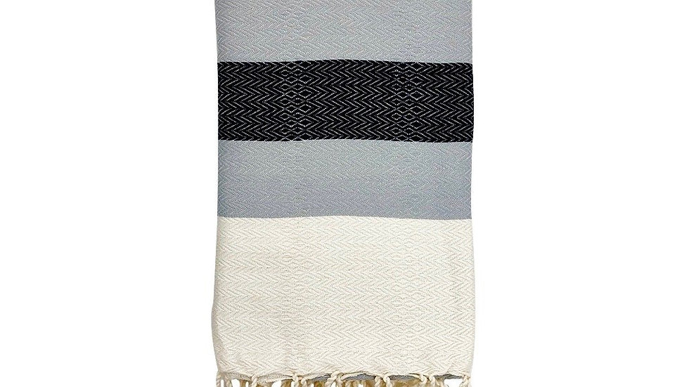 Plush Stripe Turkish Towel