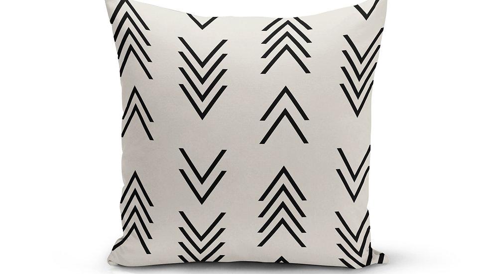 Modern Arrow Top Pillow Cover