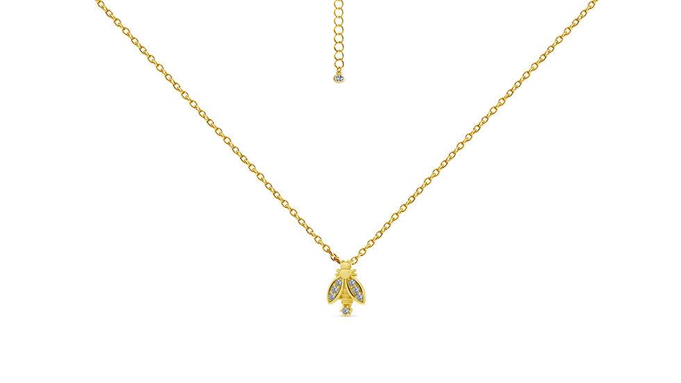 Golden Bug Necklace