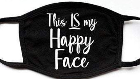 Not Today Virus | Fashion Funny Black Face Mask