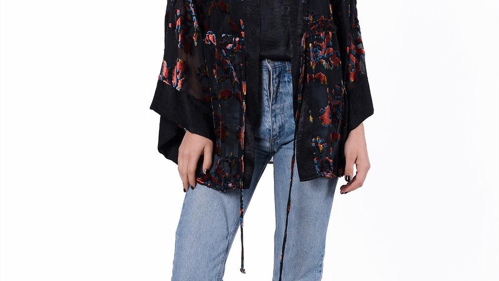 Plumas Kimono
