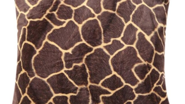 Animal Zebra Leopard Print Pillow Case Sofa Waist