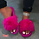 Thumbnail: 2020 Furry Slippers Women Fur Home Fluffy Sliders Plush Furry