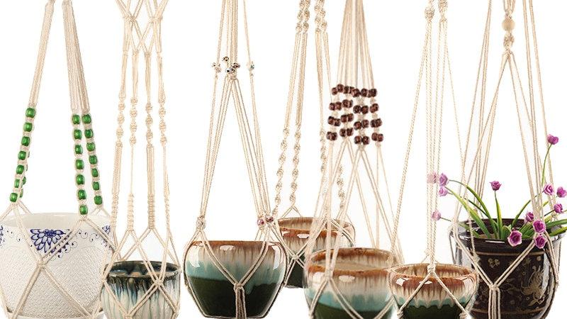 100% Handmade Macrame Plant Hanger