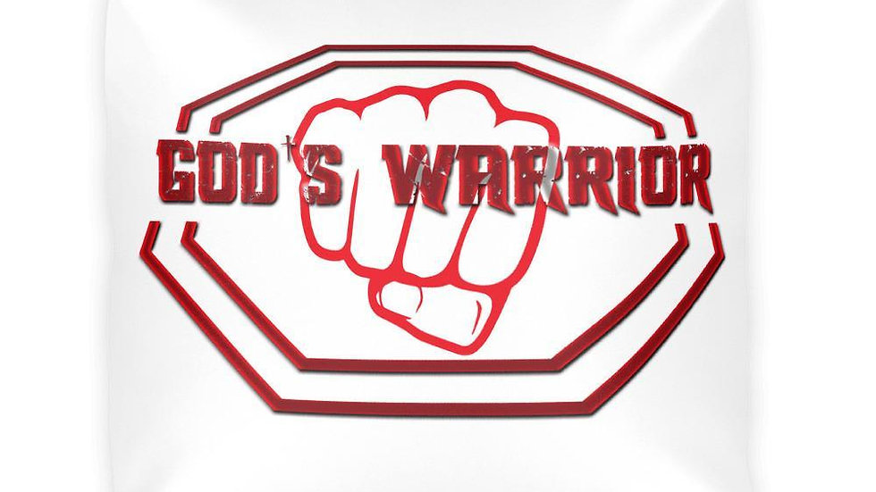 God's Warrior Pillow