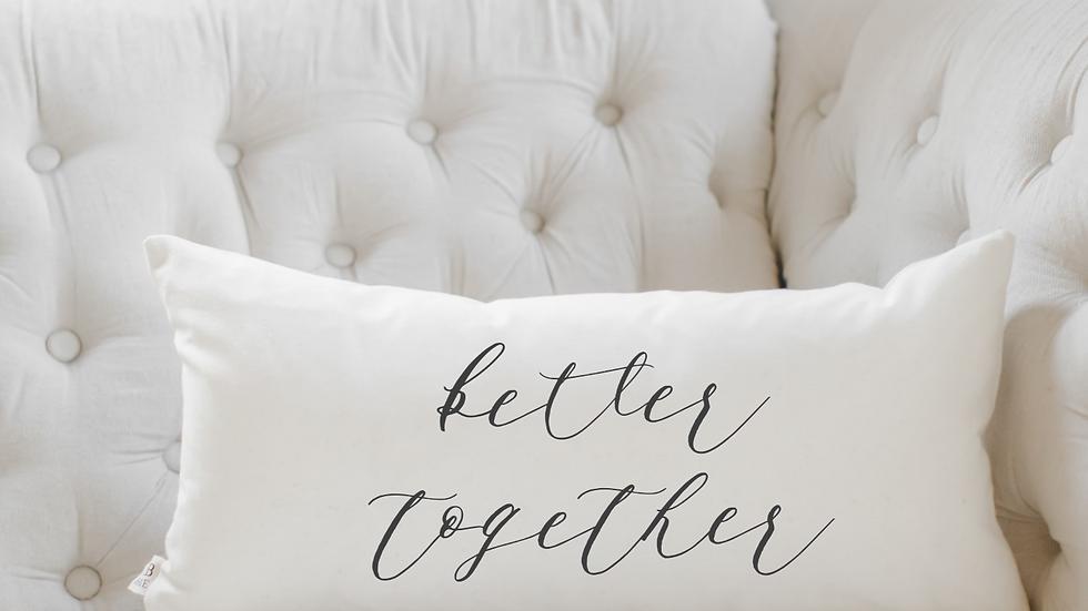 Better Together Lumbar Pillow