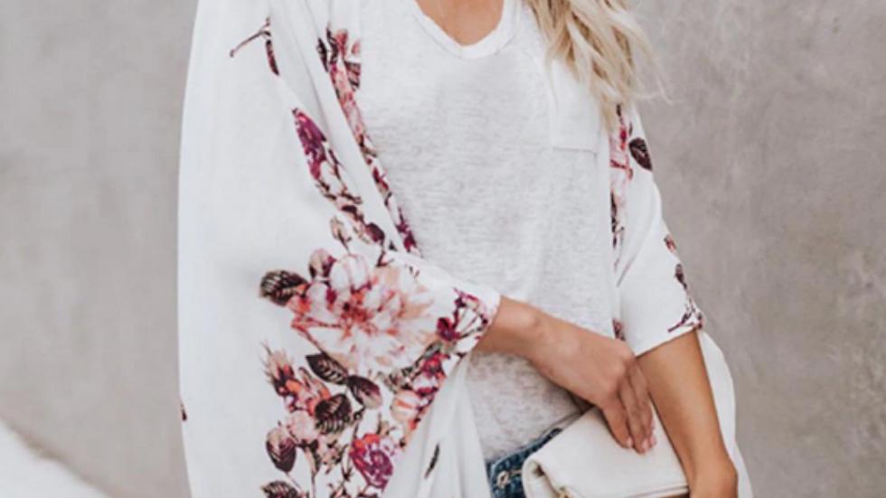 Berries Kimono