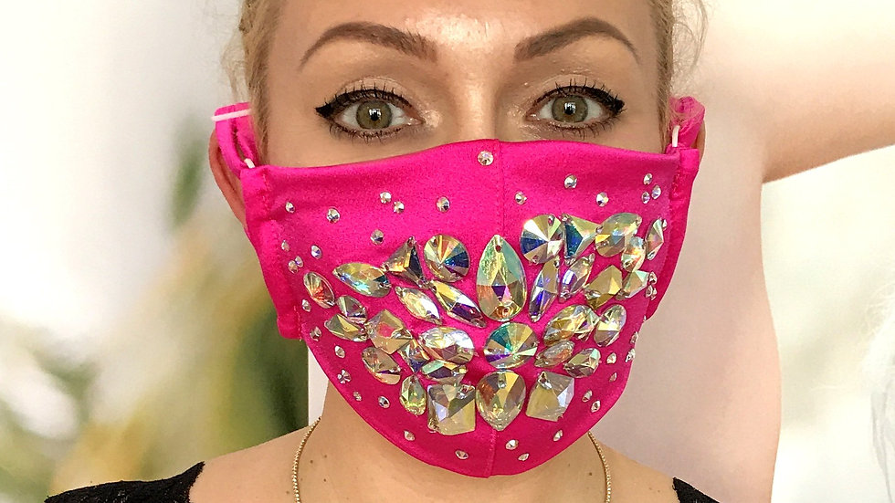 Shine Crystal Mask - Pink