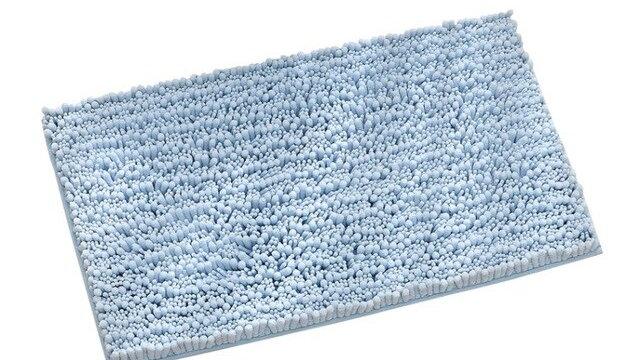 50*80CM Indoor Bathroom Mat Chenille Floor Mat