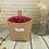 Thumbnail: Small Storage Sack Stripe Dot Hanging Bag Sundries Storage Basket