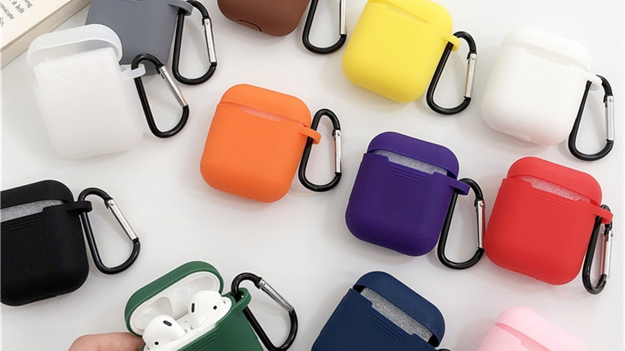 Mini Soft Silicone Case for Apple Airpods Shockproof Cover