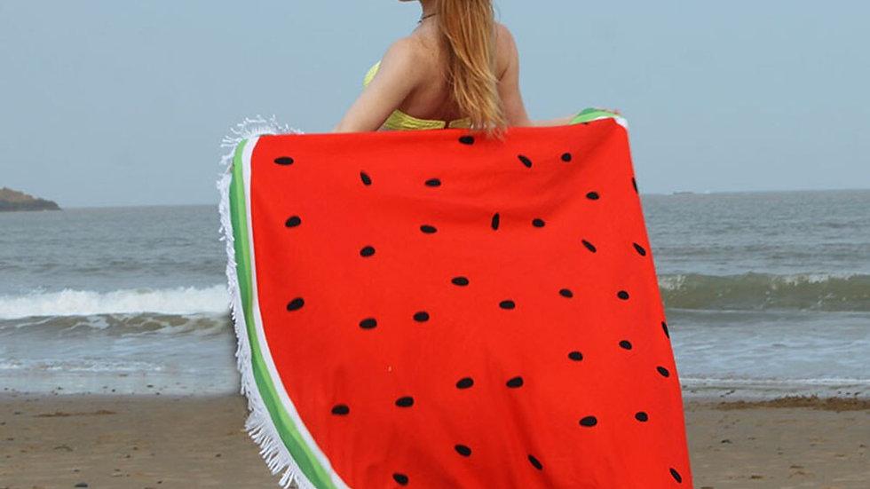 150cm Diameter Round Beach Towel  for Holiday