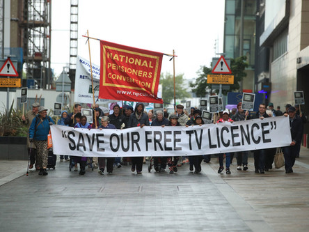 Letter to Lord Botham / Over 75s free TV licence