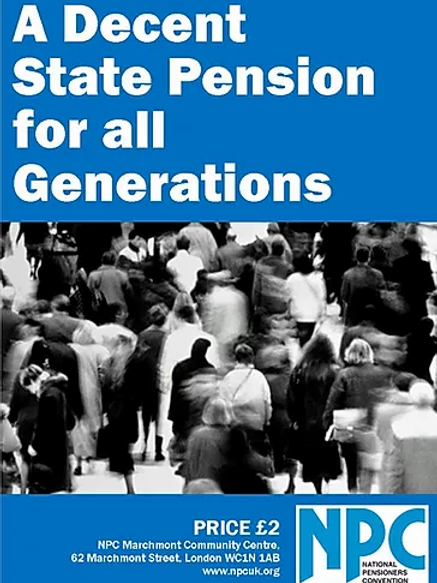 A Decent State Pension For All Generations