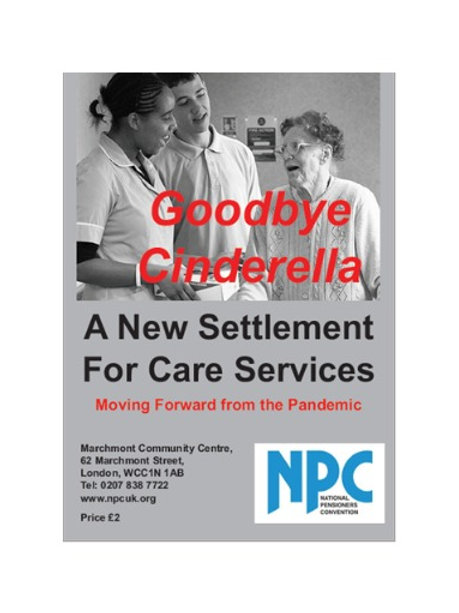 Digital copy of Goodbye Cinderella - A New Settlement for Care Services