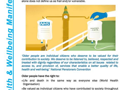 NPC Health & Wellbeing Manifesto