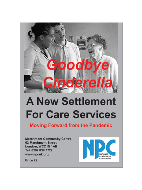 Goodbye Cinderella - A New Settlement for Care Services