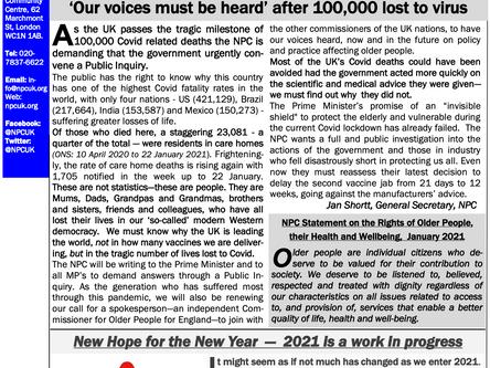 Campaign! Bulletin January 2021