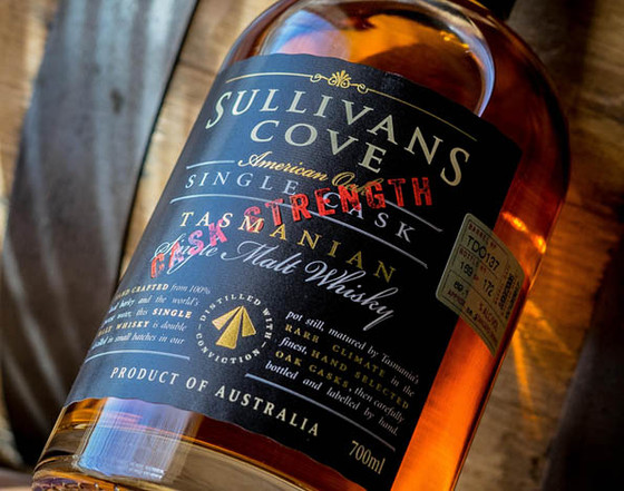 New Cask Strength Sullivans Cove