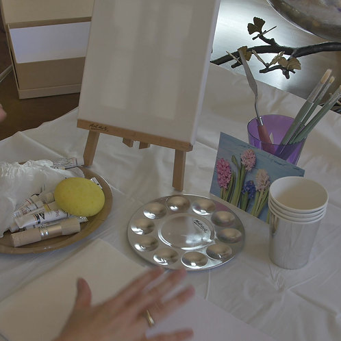 Class: How to paint with acrylics for beginners