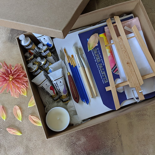 Masterpiece Art Box plus Tutorial (SOLD OUT)