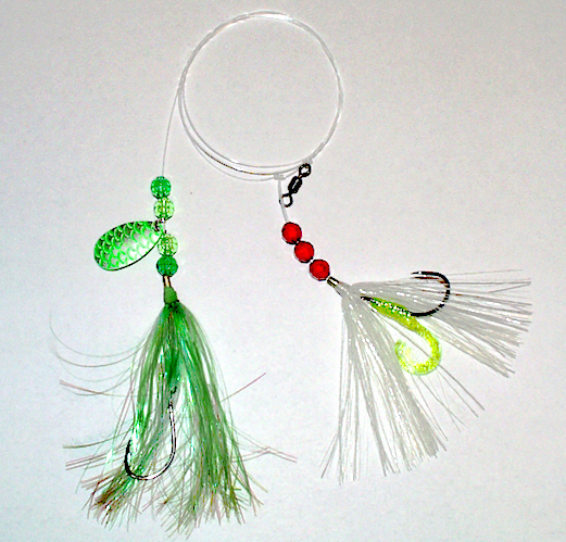 Italian Rig green thread