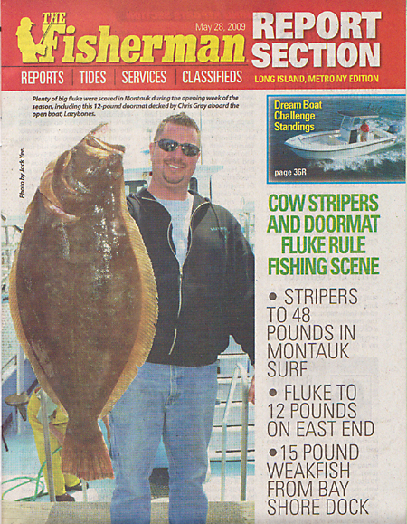 FISHERMAN MAGAZINE Inside Cover