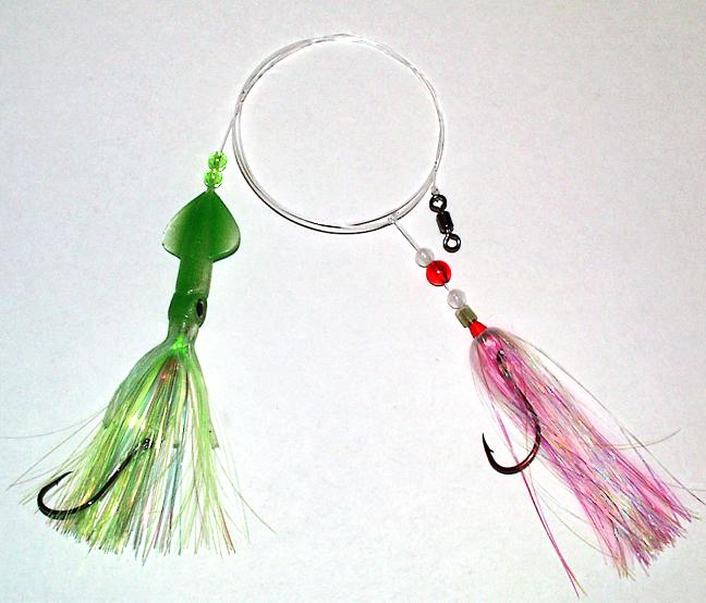 Squid Skirt Rig - pinker