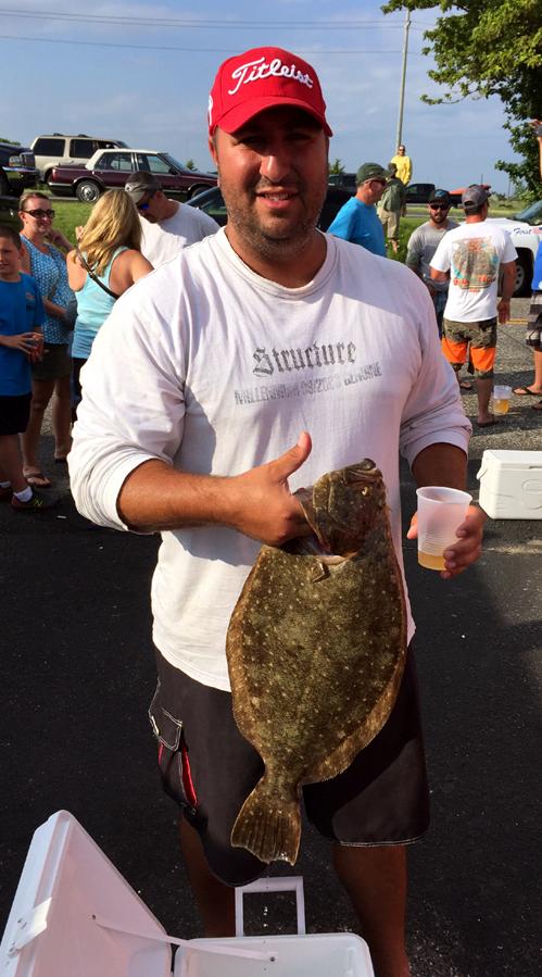 Ralph Papa's nice 5.54lb flounder
