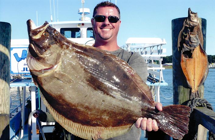 10.5 lb fluke Montauk 8-28-2010
