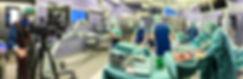 Das Eyemix-Team bei Filmaufnahmen im Operationssaal