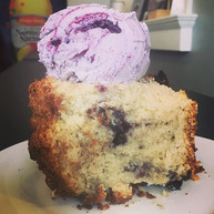 Blueberry Buckle a la mode