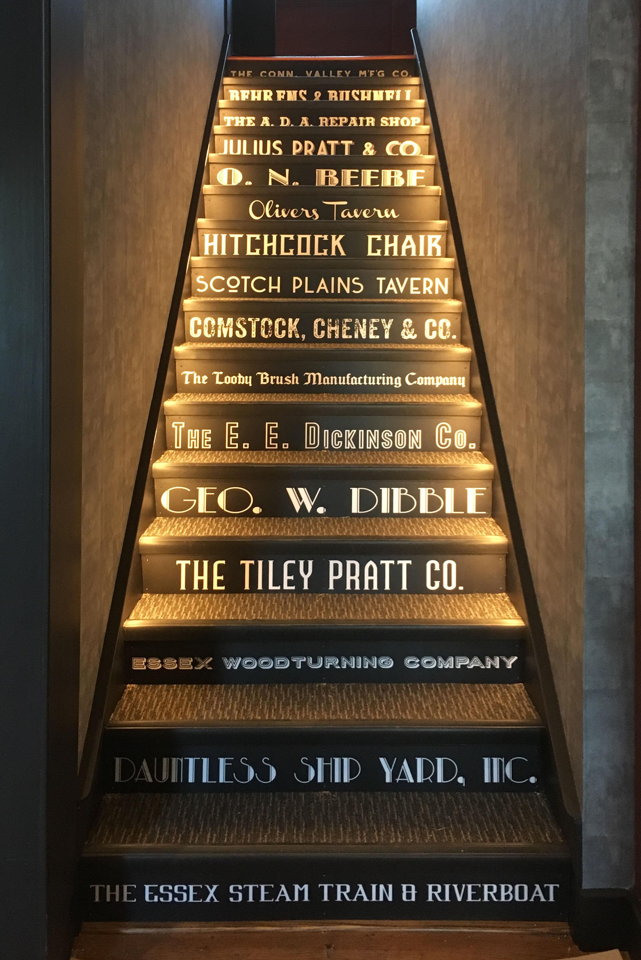 Scotch Plains Tavern stairs