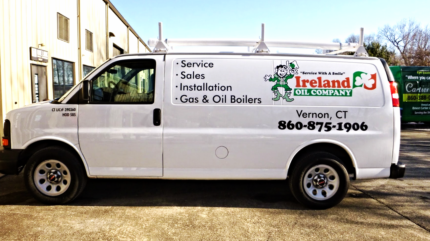 Ireland Oil Company van