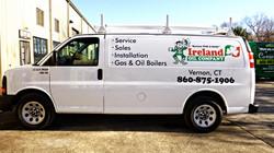 Ireland Oil Company van