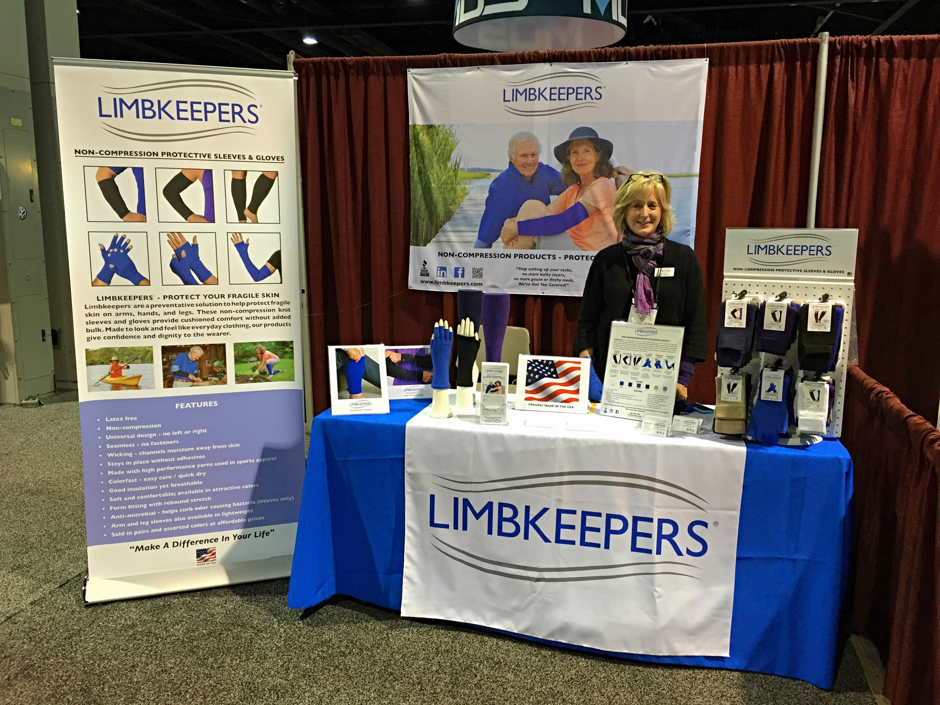 limbkeepers booth 1