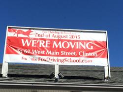 Fox Driving School banner