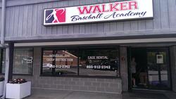 Walker Baseball Academy Lit Box Sign