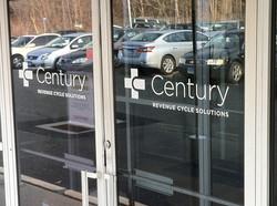 Century door logo