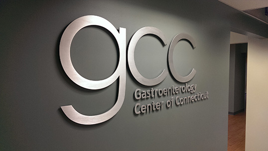 GCC Dimensional Aluminum Wall Letters