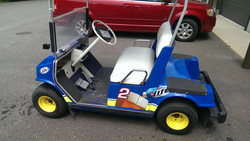 Custom Golf Cart Wrap