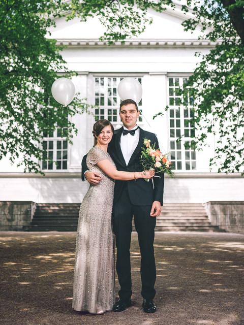 Hochzeitsportrait in Finnland