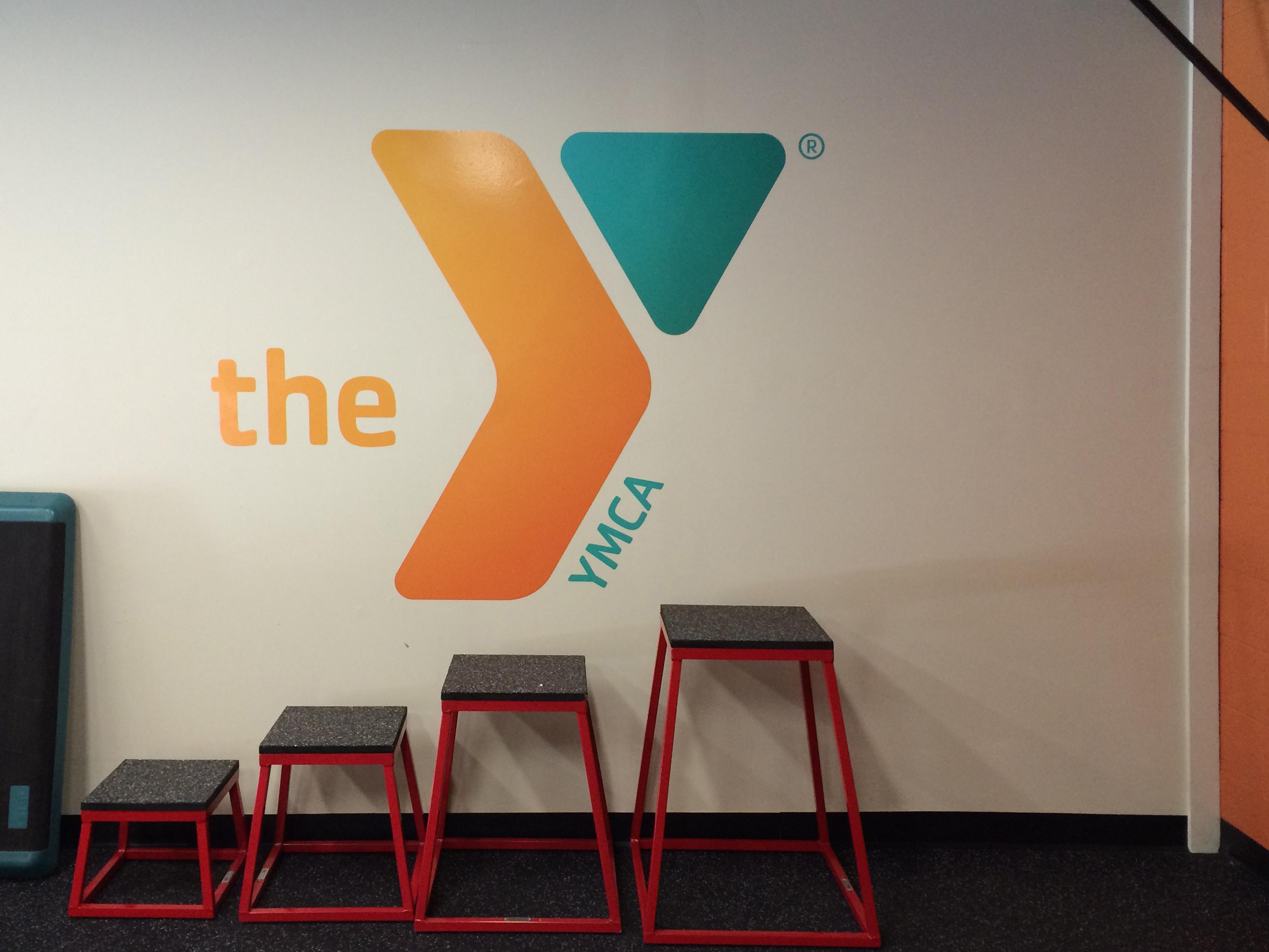YMCA Wall logo