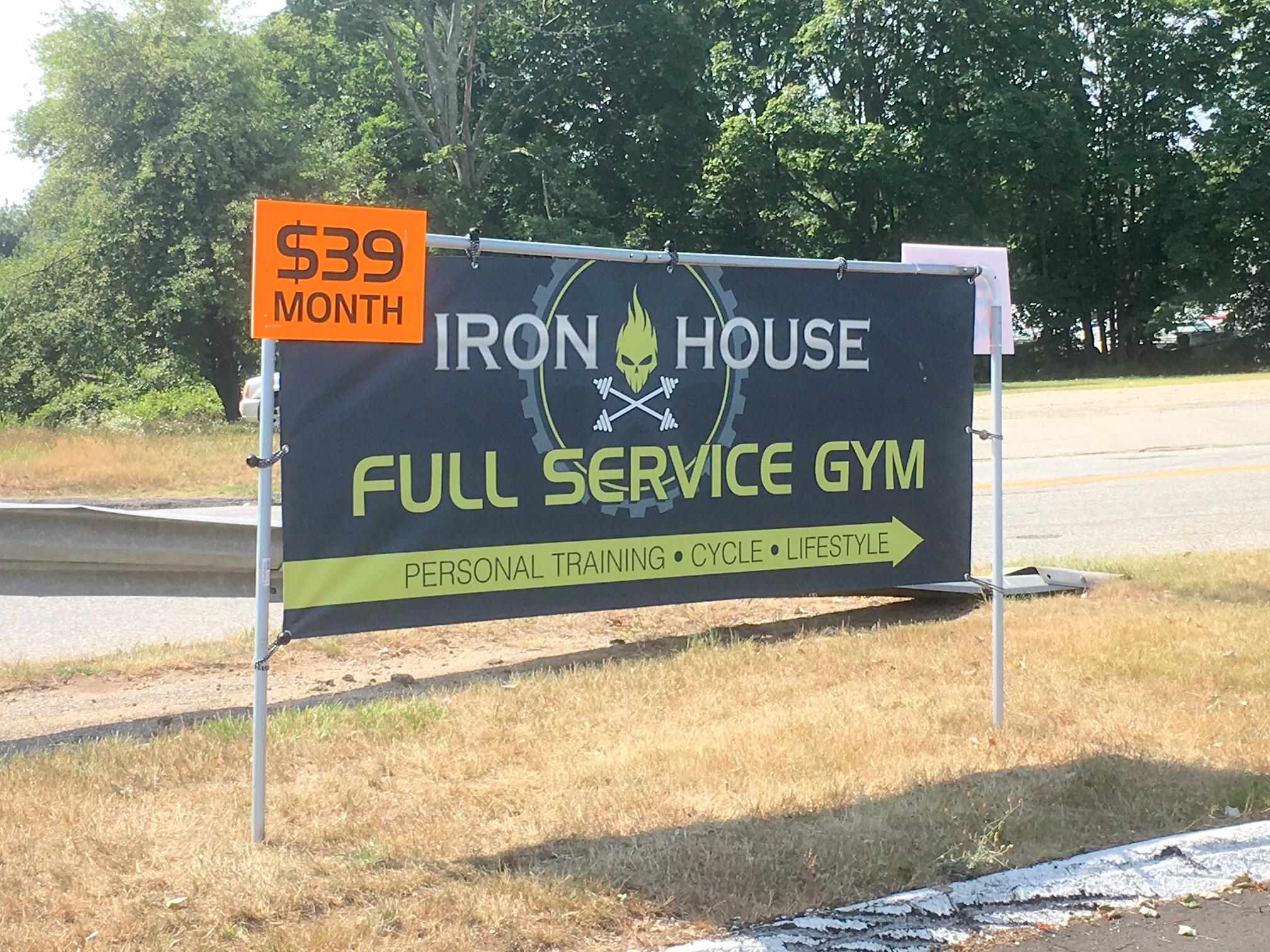 Iron House banner