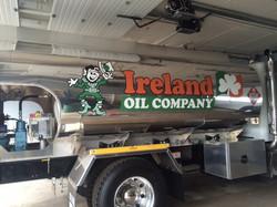 Ireland Oil Company tanker