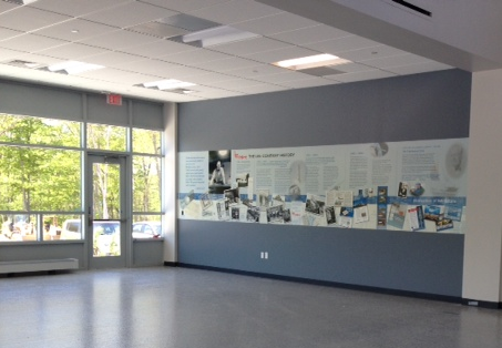 The Lee Company of Westbrook, CT Displays New Wall Murals
